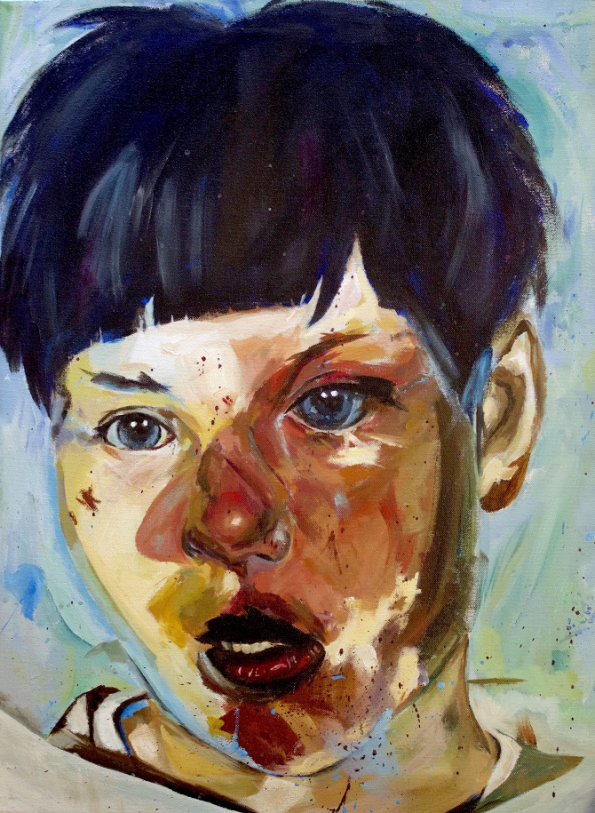 jenny saville Jenny saville rose to fame alongside the young british artists in 1990s britain, her monumental female nudes hailed as feminist genius her work stands apart from the other artists in the movement, if only for her figurative approach.