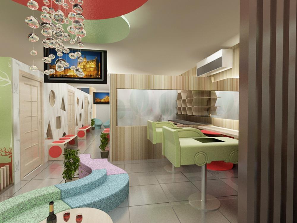 Baby Spa Interior, Design Proposal - kikigaluh