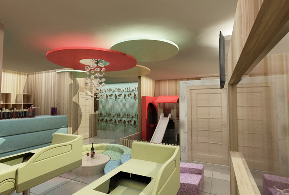 Baby Spa Interior, Design Proposal