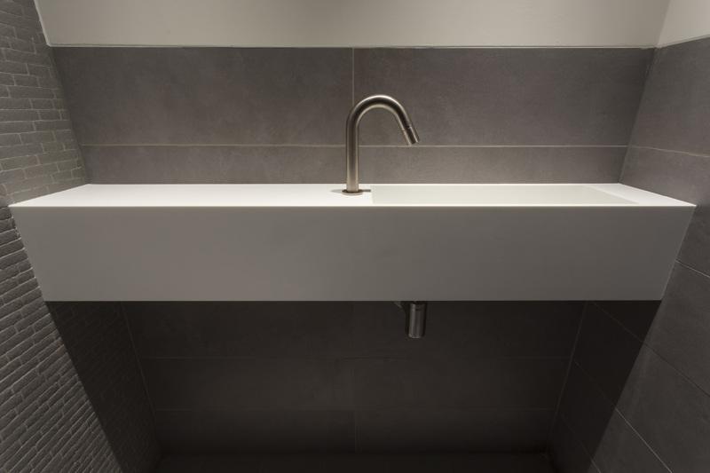 Villa, Amstelveen, slaapkamer badkamer en toilet - HG Meubelmakers